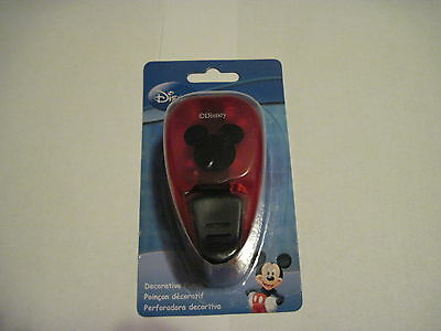 (Scrapbooking Crafts Paper Punch Medium Disney Mickey Mouse Ears New 1