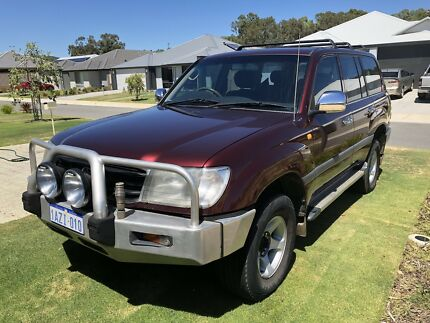 1998 gxl 105 Toyota Landcruiser 4.2 turbo diesel  Whitby Serpentine Area Preview