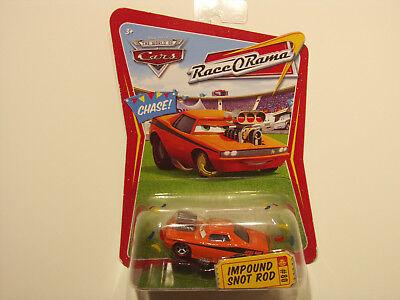 Disney Cars Race O Rama Impound Snot Rod #80 confetti Extrem RareTurbo Rotz (Extreme Car Race)