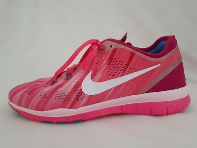 Bnib Men's Nike Free 5.0 Flas H20 Repel Red/black/silver Trainers Uk 8.5 Eur 43 Athletic Shoes Clothing, Shoes & Accessories