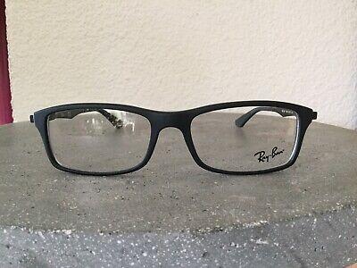 Ray Ban Brillenfassung Brille Gestell Mod. RB 7017 5196 54-17 Schwarz Matt  NEU!