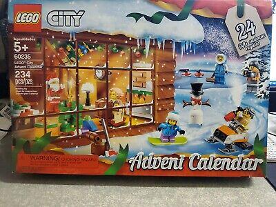 LEGO City Advent Calendar 60235 Building Kit (234 Pieces) (Discontinued)