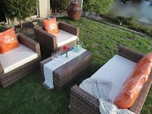 Synthetic Rattan 4 piece Outdoor setting  Wicker Garden Furniture Langwarrin Frankston Area Preview