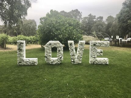 LOVE LETTERS AND FLORAL NUMBERS