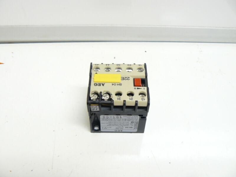 EEC AEG SH 04  CONTACTOR 220VOLTS 6AMP