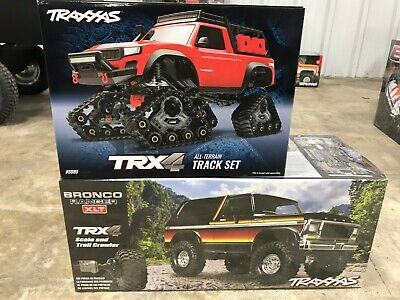 NEW Traxxas TRX-4 Ford Bronco SUNSET Color w/ TRACK KIT!!!!!!!!!!!!!!!!!!!!!!!! ()