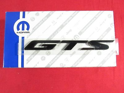 DODGE SRT VIPER Blacked Out GTS Nameplate Emblem NEW OEM MOPAR