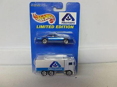 Hot Wheels Limited Edition 2 Car Pack Albertsons W  Firebird T Top