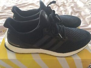 Adidas Ultra Boost 2.0, Core Black SIZE 12.5 rare 9.5/10