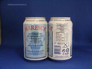 Maresca Mineral Water 72 x 0,33l Dose XXL Paket (Natürliches Mineralwasser )