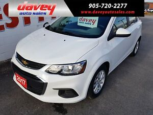 2017 Chevrolet Sonic LT Auto BACK UP CAMERA, HEATED SEATS, RE...