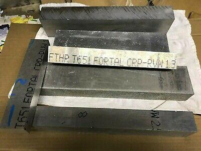 Fortal Aluminum Scrap Box 35 Pounds Of Project Material 7075 T651 Longer Plate