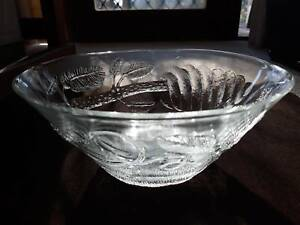 """Arabia Finland """"Pioni"""" glass salad bowl Hawker Belconnen Area Preview"""
