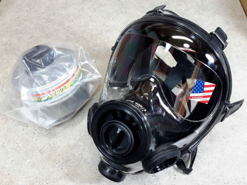 SGE 400/3 40mm NATO NBC Gas Mask w/ Mestel Filter ** ALL NIB ** MADE IN 2021 !!!