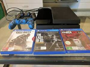 PS4 500g with 2 controlles and 3 games Fitzgibbon Brisbane North East Preview