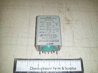 Nos Triad Filament Transformer Hs-433