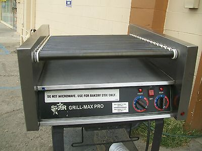 Star Max Pro Hot Dog Grillroller 2 Thermostats115 Volts 900 Item On E Bay
