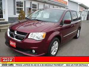 2017 Dodge Grand Caravan $28995.00 with 2k down or trade-in*  Cr