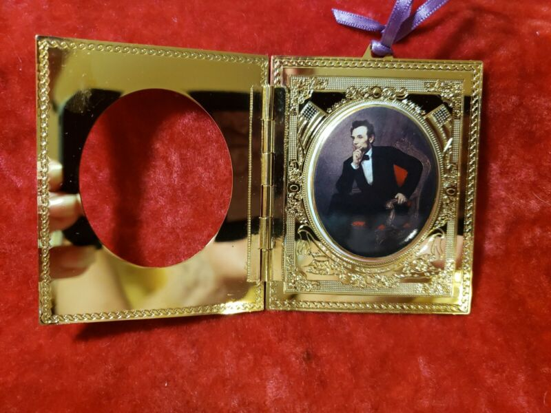 1999 WHHA White House Historical Assoc Abraham Lincoln Christmas Ornament