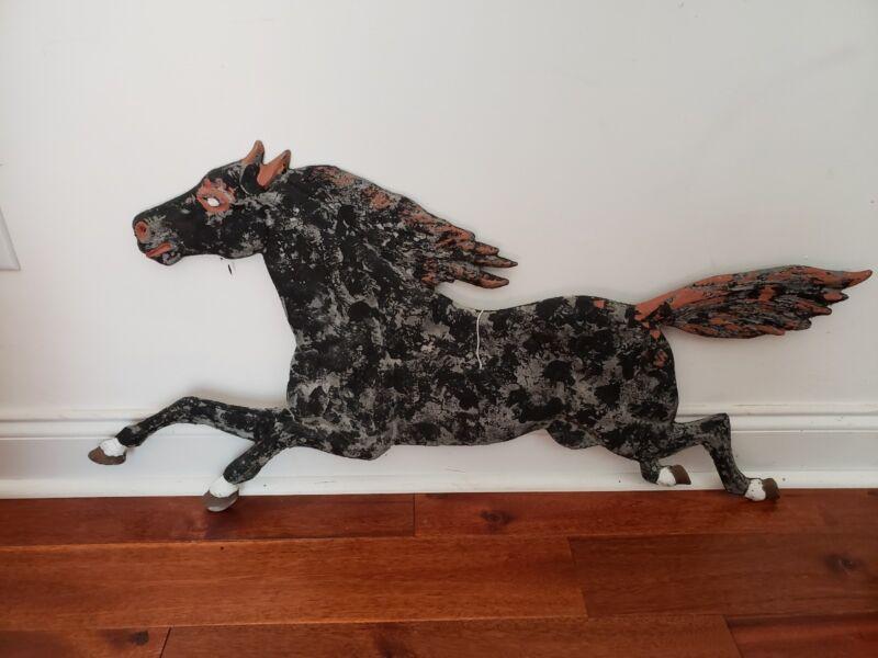 VINTAGE METAL HORSE RETRO COLLECTABLE WALL HANGING UNIQUE COLLECTABE DECORATIVE