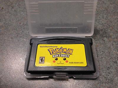 POKEMON ASH'S QUEST GBA Gameboy Advance DS Plastic Protective Case