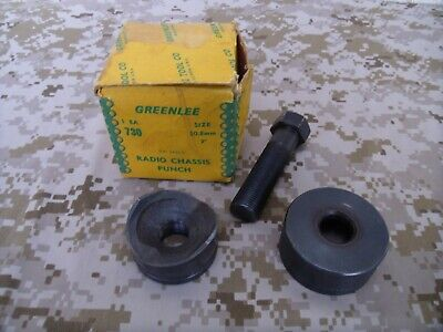 Greenlee 730 Radio Chassis Knockout Punch 2 50.8 Mm