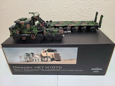 Oshkosh HET M1070 Transporter M1000 Trailer Sword TWH 1:50 Model #SW1500-C New!