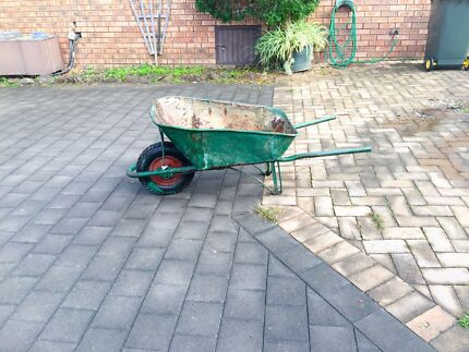 Metal wheelbarrow  Blacktown Blacktown Area Preview