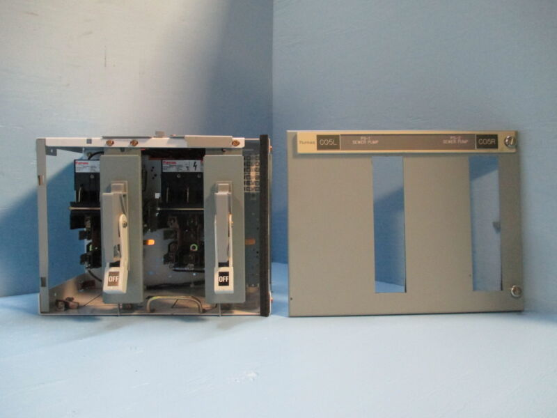 "Siemens Tiastar Furnas 89 30 / 30 Amp Fused Dual Feeder 12"" MCC MCCB Bucket 30A"