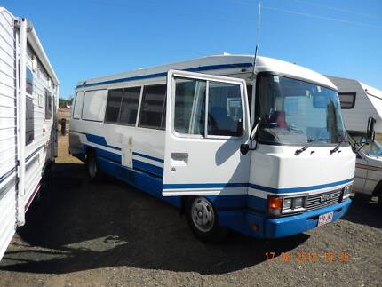 TOYOTA COASTER  6 CLY 4.2 DIESEL  M/HOME. Redland Area Preview