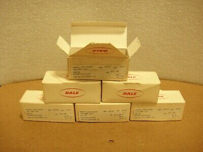 Lot Of 600 Dale Cmf-60 Metal Film Resistors Open Box New Pictured