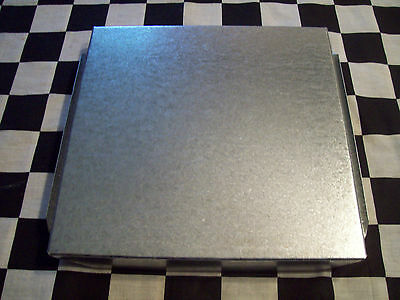 6 New - 8 X 8 Inch Hvac Duct Work End Cap Galvanized Sheet Metal Building Supply