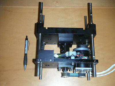Linear Actuator W Stepper Motor Encoder Ball Screw And Limit Switches4692