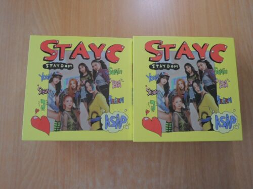 STAYC - STAYDOM (2nd Single Promo) with Autographed (Signed)