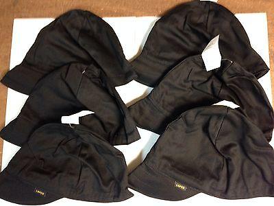 Lapco 7 34 Solid Black Welding Caps 12 Caps