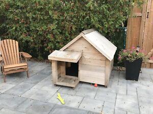 Grande niche pour chien