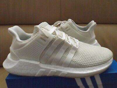 d8eb53b443e61 Adidas EQT Support 93 17 Men s Shoes Size 8.5 Boost Off White Cream BZ0586  NEW