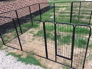 Portable outdoor fence / large heavy duty playpen for dogs & pets