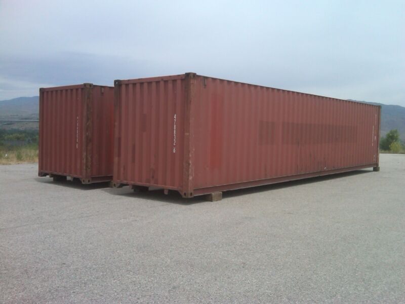 45ft Hc Shipping Container Storage Container Conex Box In Seattle, Wa