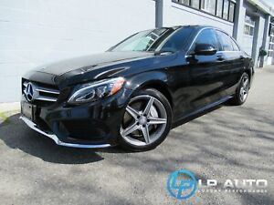 2017 Mercedes Benz C-Class C300 4MATIC! LOADED! Easy Approvals!