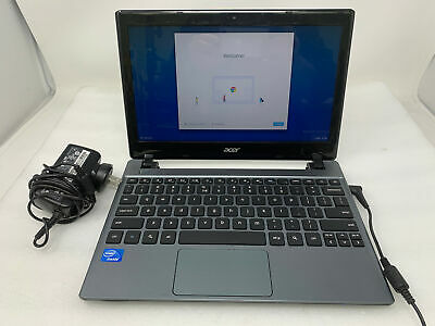 ACER Q1VZC Chromebook, IC 847 @ 1.10 GHz, 16 GB SSD, 2 GB RAM, No Batt [AE13-02]