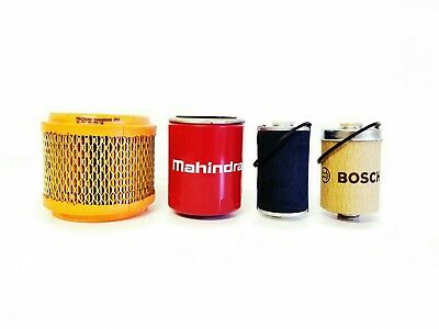 Mahindra Tractor Economy Pack Of 4 Filters -5890.7310.2448.1778