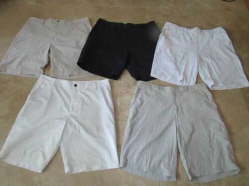 Lot, 5 mens size 38 golf shorts, PGA Tour, Callaway, Adidas