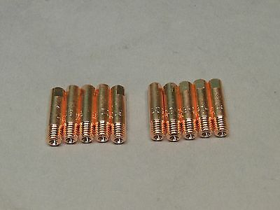 10 .035 M15524 Marquette Mig Welder Contact Tips Parts