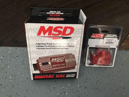 Msd digital 6al ignition system & blast cool brand new