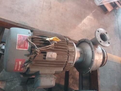 Corcoran Co. Close-Coupled, Model D Centrifugal Pump w/ 25 HP Motor