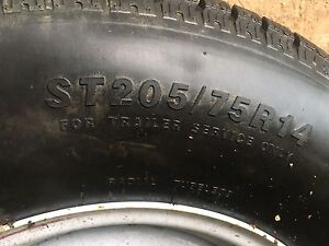 Trailer tires & rims