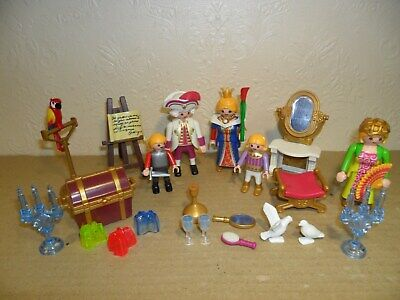 PLAYMOBIL ROYAL FAMILY With Accessories (king,Queen,Prince,Princess)