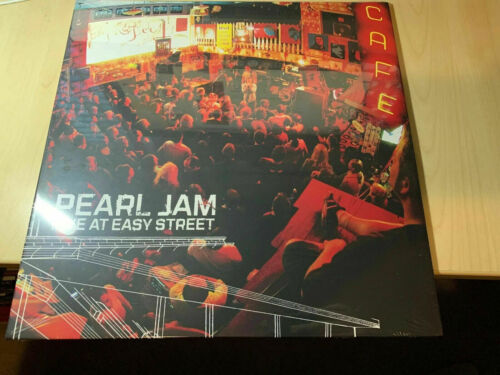 Pearl Jam Live at Easy Street RED COLOR VINYL LP Ten 10 Club Edition New Sealed