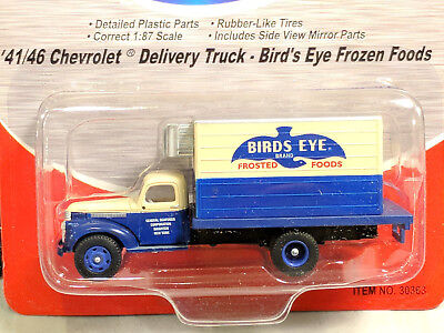 HO Mini Metals 30363 1941-46 Chevrolet Reefer Delivery Truck - Bird's Eye Foods